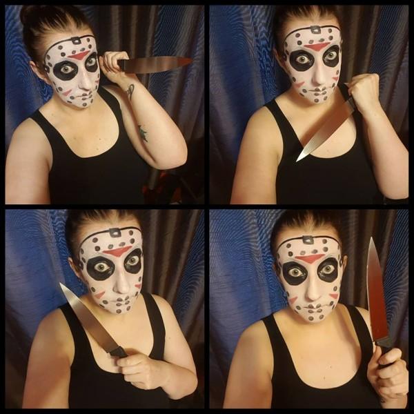 Jason Voorhees makeup